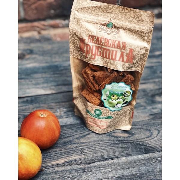 Белёвская хрустила яблочная с малиной БЕЗ САХАРА, 50г