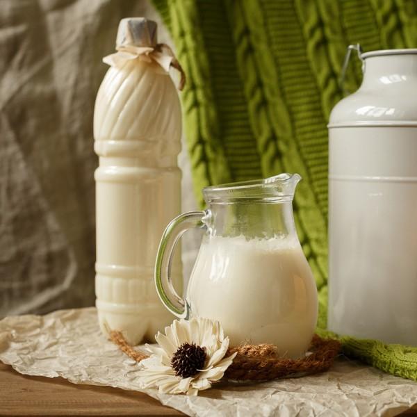 Молоко цельное (сырое) 1л, м.д.ж. 3,5% до 5%
